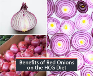 Benefits of Red Onions on the HCG Diet