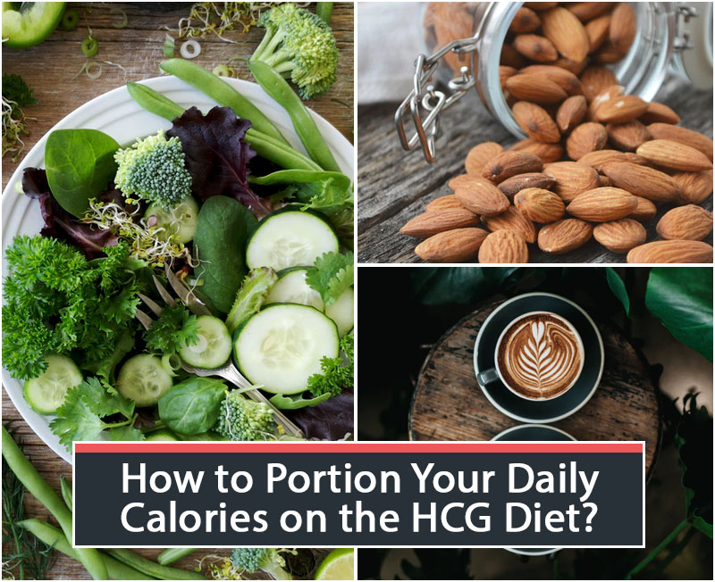 How to Portion Your Daily Calories on the HCG Diet?