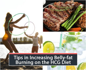 Tips in Increasing Belly-fat Burning on the HCG Diet