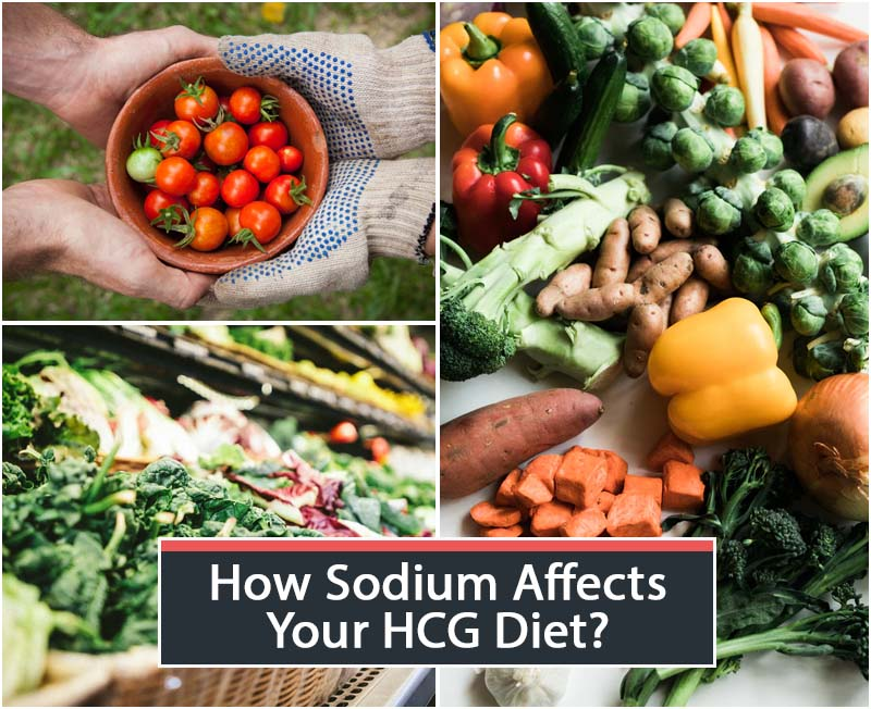 How Sodium Affects Your HCG Diet