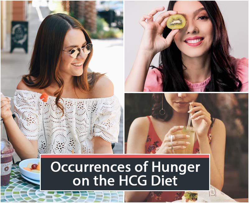 Occurrences of Hunger on the HCG Diet