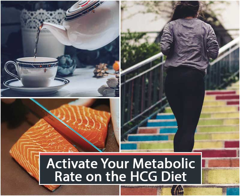 Activate Your Metabolic Rate on the HCG Diet
