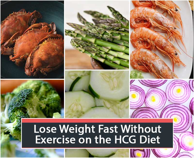 Lose Weight Fast Without Exercise on the HCG Diet