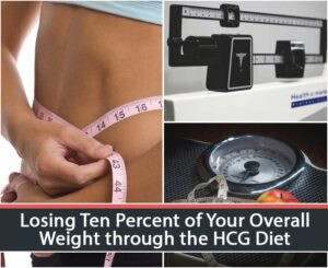 Losing Ten Percent of Your Overall Weight through the HCG Diet