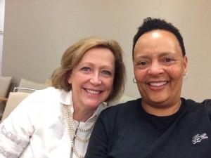 Drs. Simpson and Mebane (credit: Felicia E. Mebane)