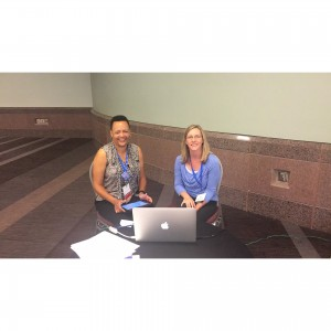 HSU at the ARM 2015, Dr. Mebane with Dr. Fritsma, credit: AcademyHealth and Dr. Mebane