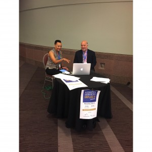 HSU at the ARM 2015, Dr. Mebane with Dr. Plough, credit: AcademyHealth and Dr. Mebane
