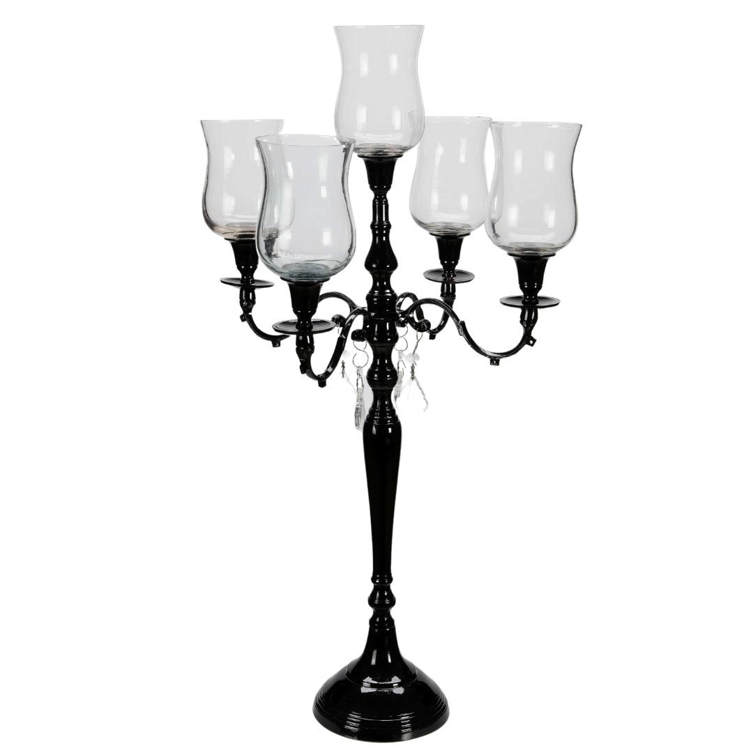event decor rental candle holder chandelier wedding centerpiece