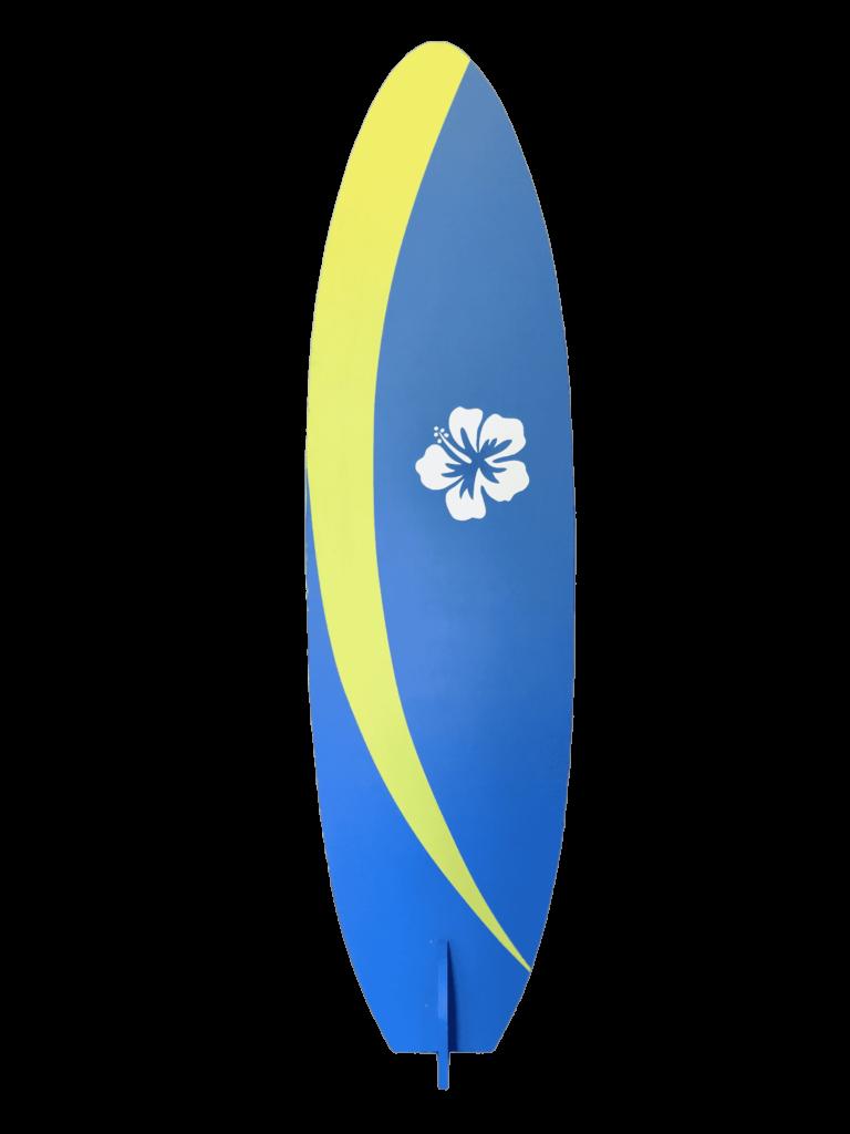 Surfing Prop Sign Tiki Beach Wedding Event Rental