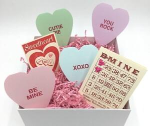 valentine friend greeting card gift box gifting husband wife