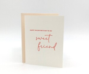valentine friend greeting card gift box gifting