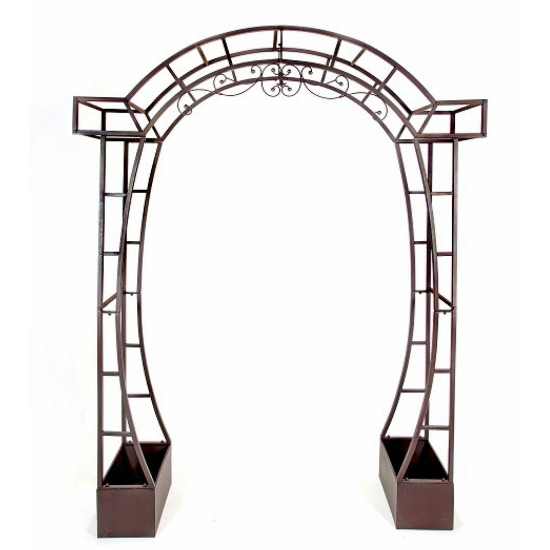 event decor rental wedding ceremony arch bronze altar