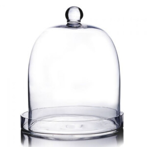 event decor rental glass bell jar cover wedding centerpiece