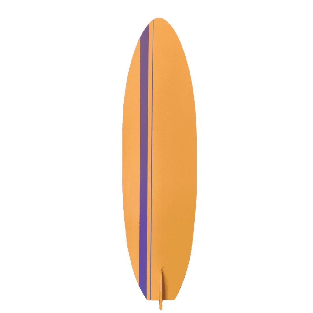 Orange Surfboard Image