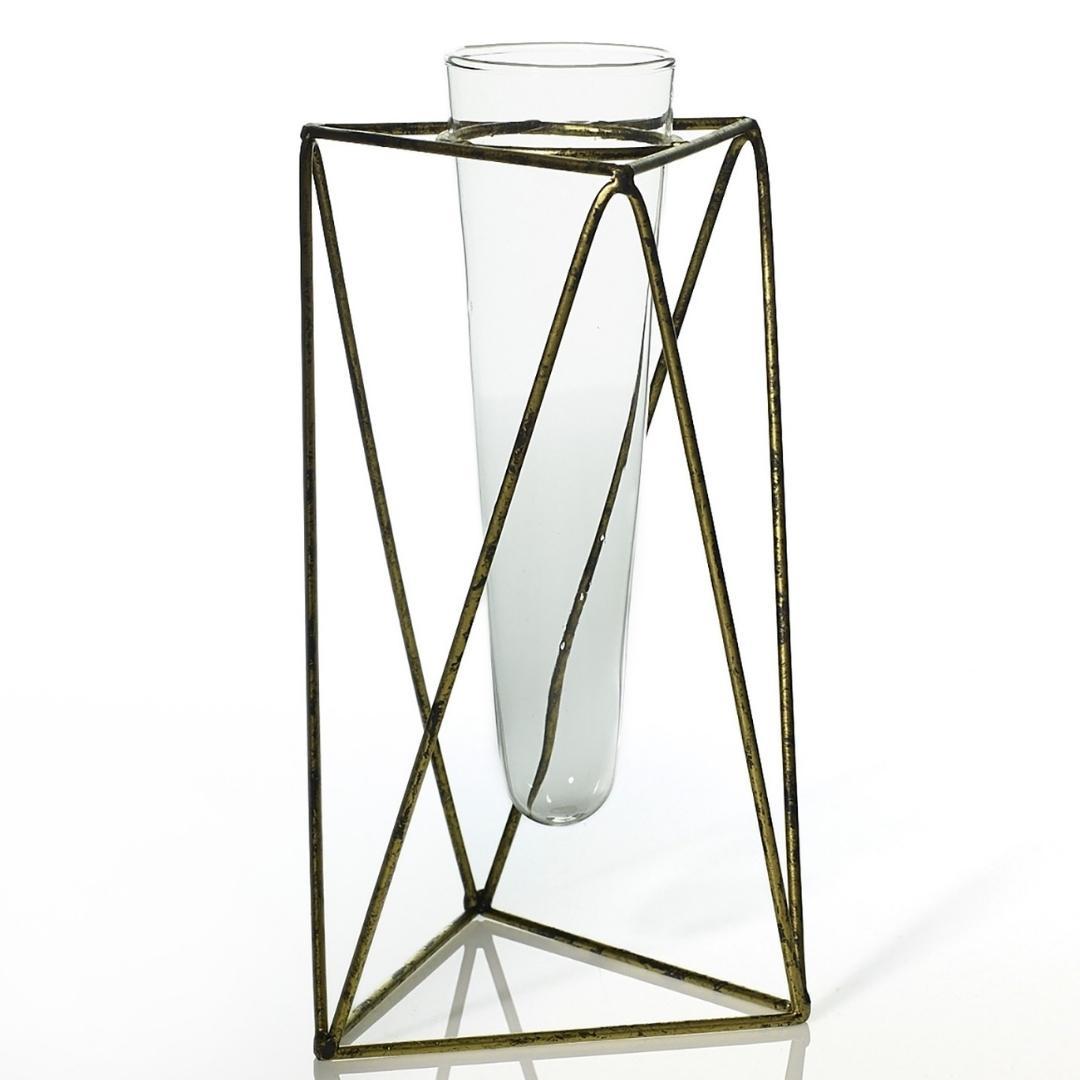 event decor rental wire test tube glass floral flower wedding centerpiece