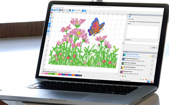 Embroidery Tool Shed Software