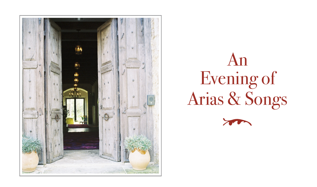 An Evening of Arias & Songs
