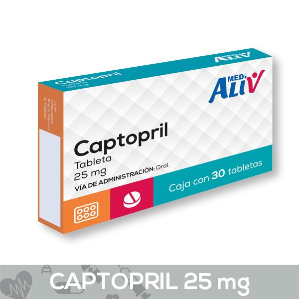 CAPTOPRIL 25 MG