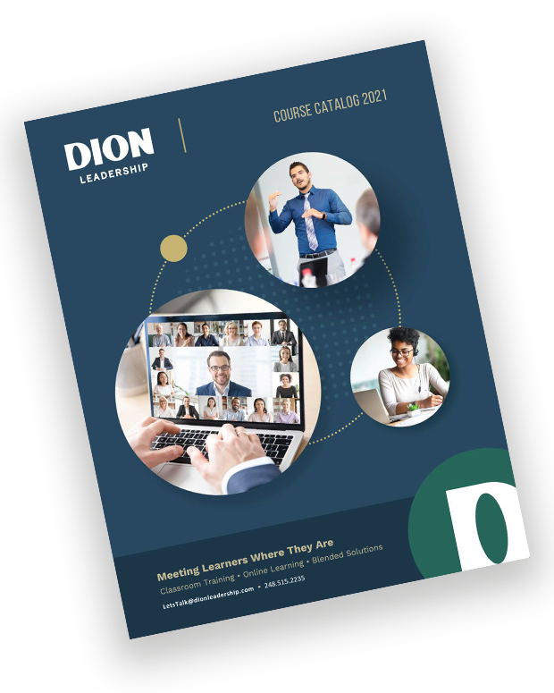 DION Leadership-Course Catalog 2021