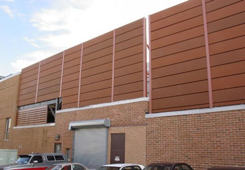 Noise Barrier Wall Roof Enclosure