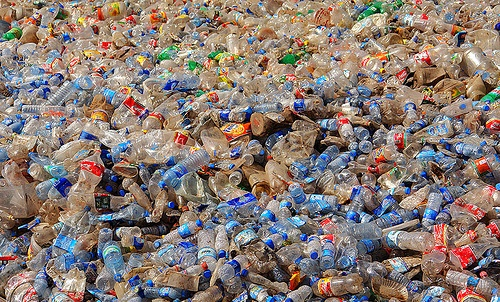 Save the Earth – Recycle & Fill Reusable bottles!