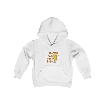 Sweatshirt One Character One Wants to be a Letter