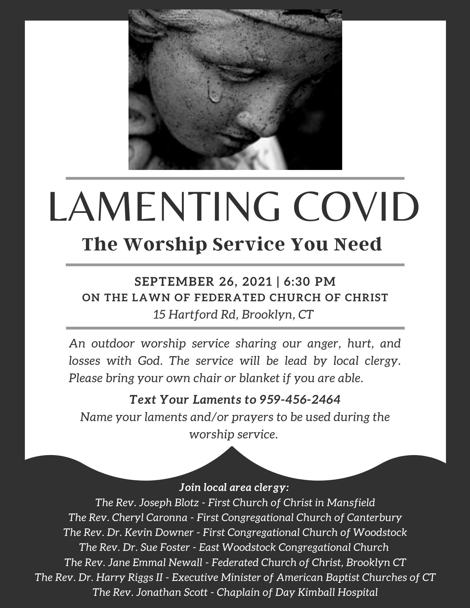 Lamenting Covid Flyer (1)