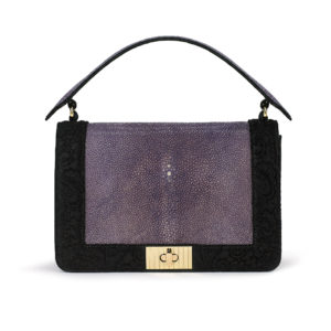 Crossbody Clutch Lilac Stingray