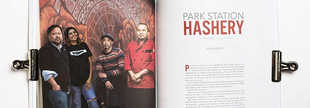 Park Station Hashery Article