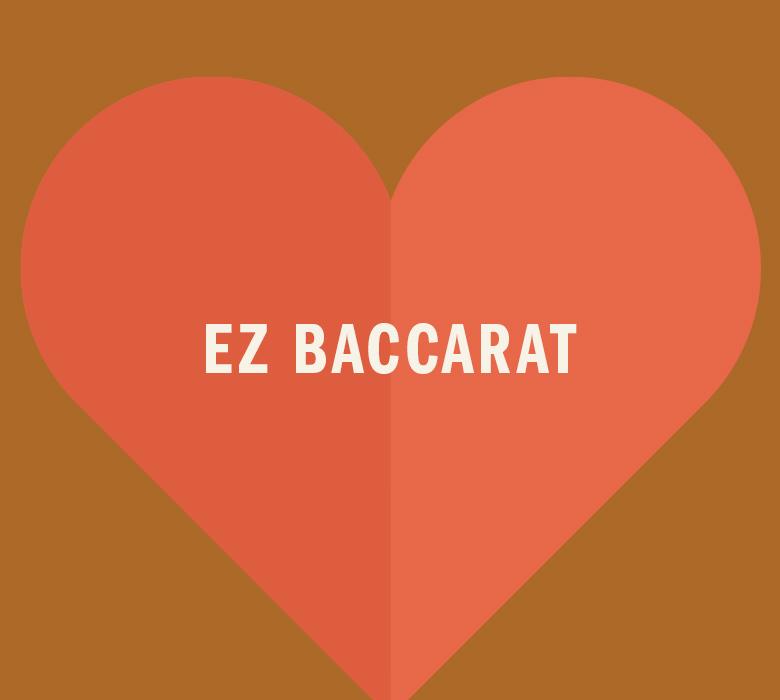 EZ Baccarat in orange heart