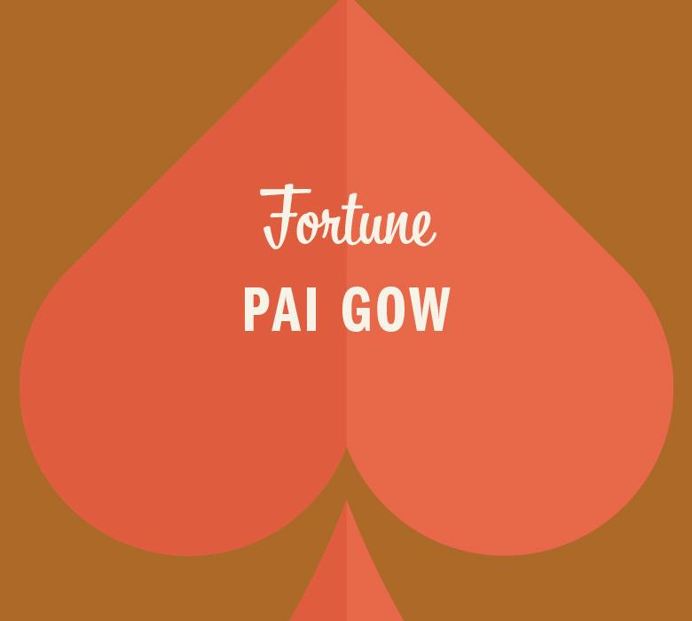 Fortune Pai Gow in orange spade