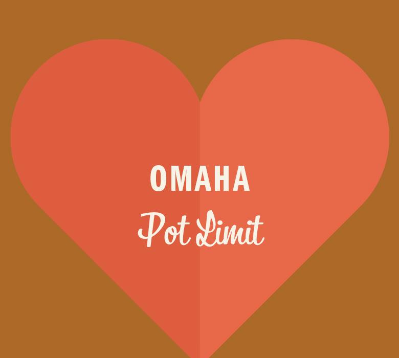 Omaha Pot Limit in orange heart