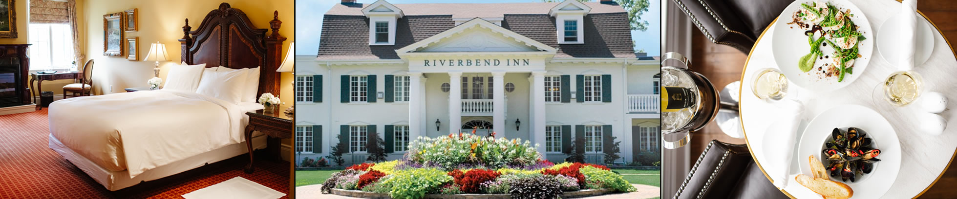 Front of Riverbend Inn