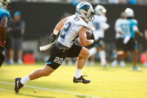 High Praise From All Around Panthers Camp for Christian McCaffrey