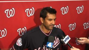 Breaking News: Nationals Manager Dave Martinez is fun