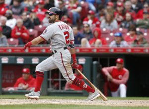 Adam Eaton Powers Nationals past Reds with 5-hit day