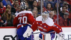 Capitals tab Grubauer for game 1 vs Blue Jackets