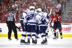 Lightning strike inside and around Capital One Arena as Capitals drop game 3