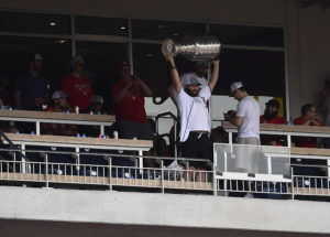 Washington Capitals celebrate Stanley Cup Final win at Nationals Park
