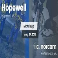 Hopewell Blue Devils shuts out I.C. Norcom 13-0