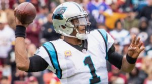 Health of Cam Newton's Shoulder Comes Into Question During Last Stretch of the Regular Season