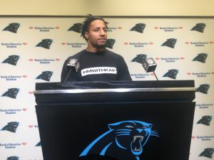 New Panthers Safety Eric Reid is Considering Anthem Protests This Season (Video)