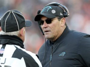 Report: Ron Rivera Expected to Roam the Panthers Sideline in 2019