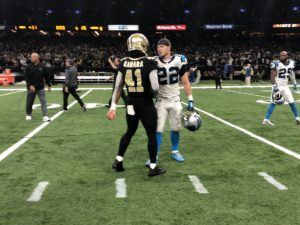 A Tale of Two Dynamic Backs: Christian McCaffrey Weighs In on Alvin Kamara