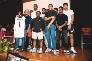 David Tepper Honored By West Charlotte High School Basketball Team