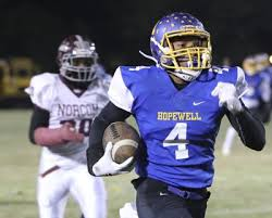 Strong 40-13 First Half Carries Hopewell to 46-25 Victory over I.C. Norcom