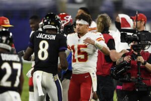 Ravens no answer for Mahomes' Chiefs, Washington up next