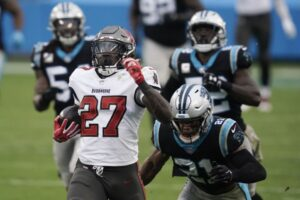 Brady and the Bucs Hand Panthers Fifth Straight Loss 46-23
