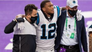 X-Rays Negative for Panthers DJ Moore