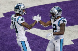 DJ Moore and Robby Anderson Record 1,000 Yard Seasons